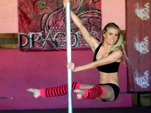 Ladies, get fit on the pole