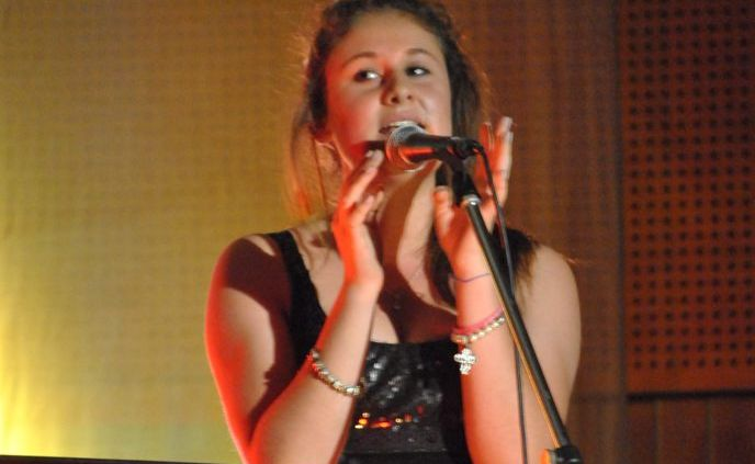 Claudia Allard will perform at Murwillumbah High School's Arts Week.