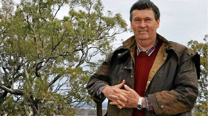 Despite having already harvested his grain crops farmer Richard Jubb is pleased with the latest rainfall which will prep the soil for the winter crop.