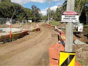 Stricken road reopens
