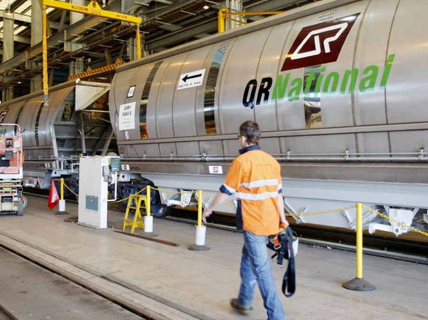 QR National announced 900 jobs will be axed.