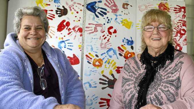 Warwick women Bronwyn Mitchell and Lyn Sendelbeck selflessly raised their granddaughters as their own children.