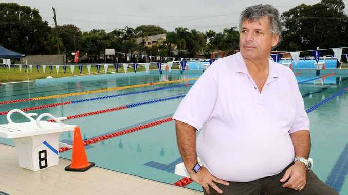 Rainbow Beach Sport and Recreation Club manager Rick Modin has a few other things he wants to include in Rainbow's new aquatic centre.