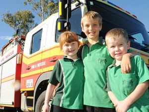 Firies deliver message