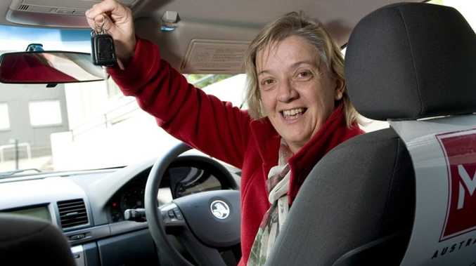 Regional service coordinator for the Multiple Sclerosis Society of Queensland-Toowoomba Janice Wheeler will soon be driving a new car thanks to a grant of more than $25,000 from the Gambling Community Benefit Fund. Photo Kevin Farmer.