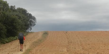 Walking into Astorga.
