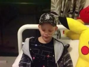 Workers help boy in fight for life