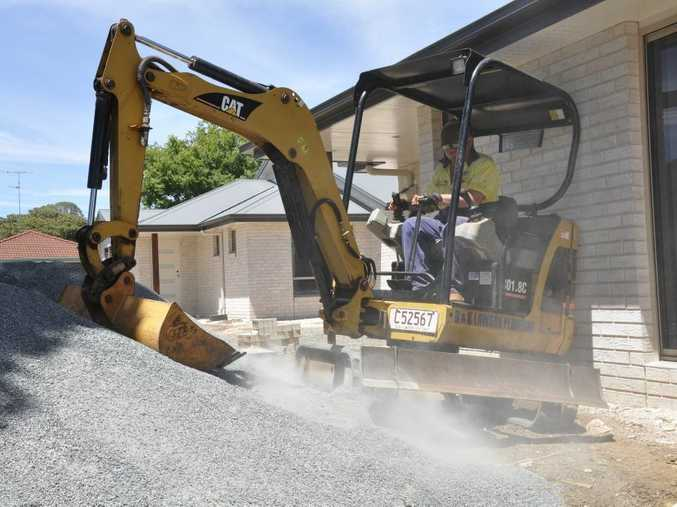 Home building approvals in Toowoomba are up 75 per cent for the three months to April compared with the same period in 2011.