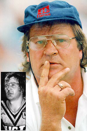 Former origin great Tommy Raudonikis is in mourning at the loss of his grandson.