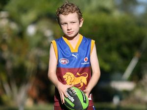 Lucky Lachlan to show AFL skills