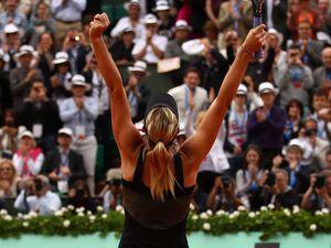 Sharapova makes history