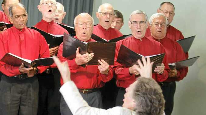 The Buderim Male Choir.