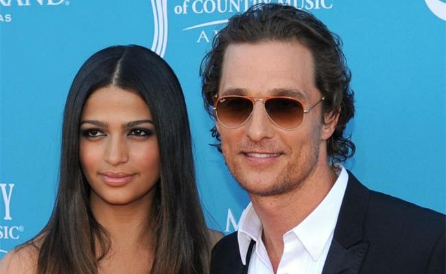 Matthew McConaughey and Camila Alves got married on the weekend.