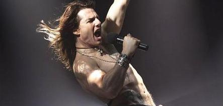 Tom Cruise in his new film Rock of Ages.