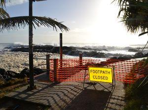 Beaches remain closed
