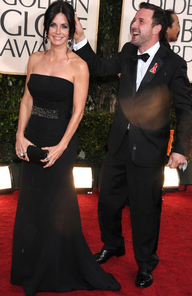 Courteney Cox and David Arquette in 2010.