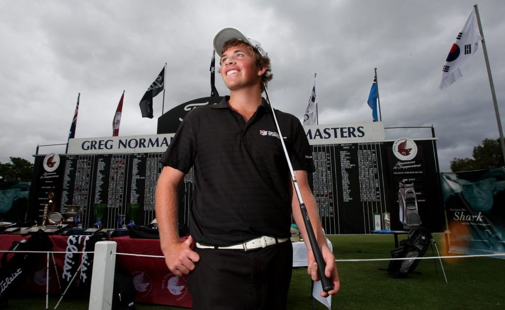 Jacob Tonkin won the under 15 years section at last year's Greg Norman Junior Masters on his home course at Cooly-Tweed. The rising star is one of many locals disappointed by the Greg Norman Golf Foundation's decision to move the tournament away from its long-time home.