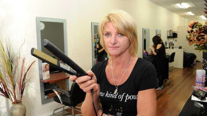 Hairdresser Karen Dawson lost more than $3000 worth of hairdressing gear including 10 high end GHD straightening irons.