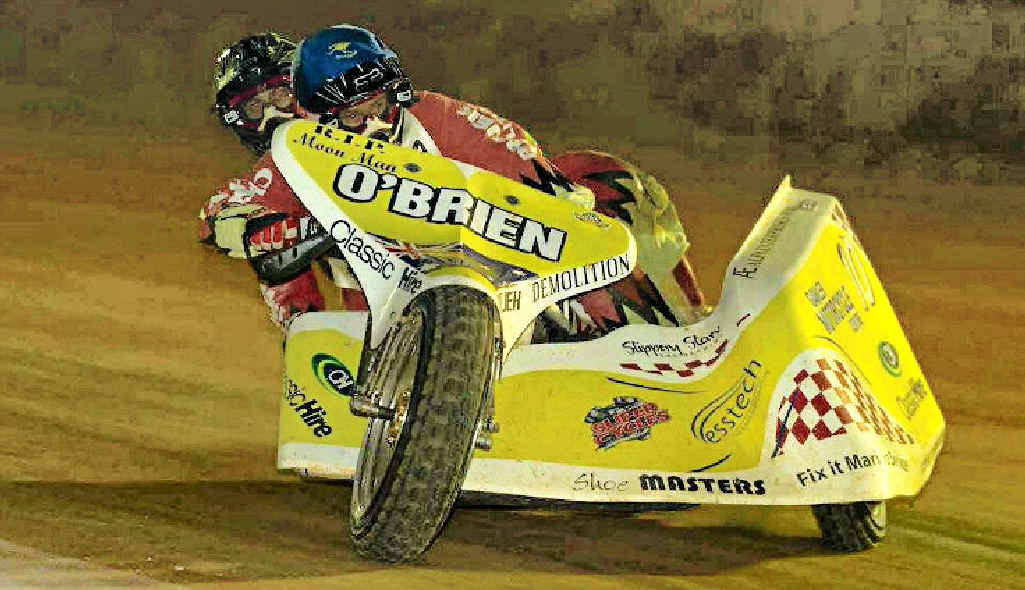 Glenn O'Brien and Aaron Maynard were meant to compete at the 2012 Australian speedway sidecar titles at Maryborough in May.