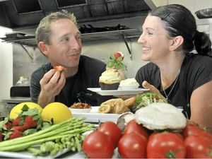 Great food lures five-star couple