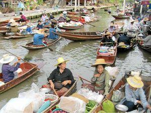Market all afloat