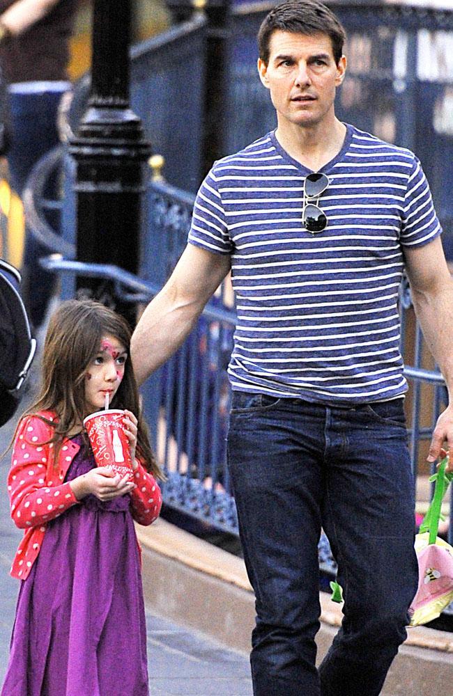 Tom Cruise with daughter Suri