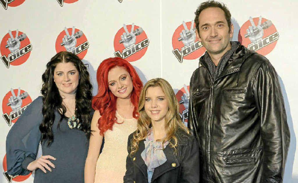 Grand finalists (from left) Karise Eden, Sarah de Bono, Rachael Leahcar and Darren Percival.