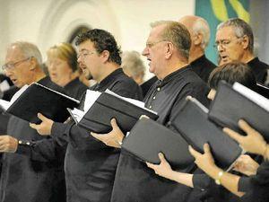 Choir scores an A+ for gig