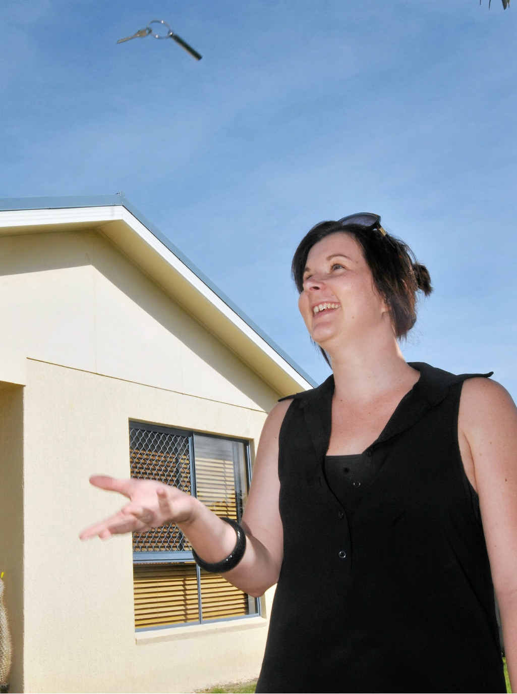 First home buyer Nikaela Plummer and her partner worked towards purchasing their new house for a couple of years.