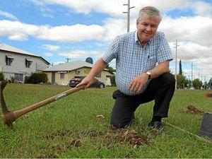 Digging deep for community garden