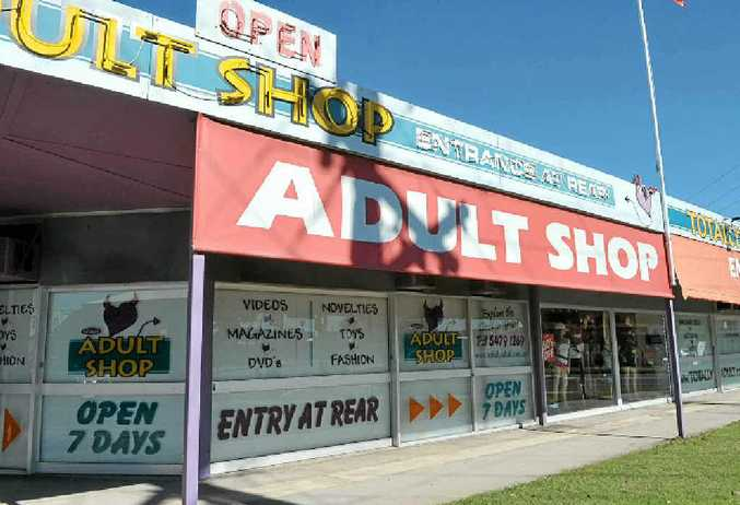 The Totally Adult store in Maroochydore was robbed by an armed offender on Friday night.