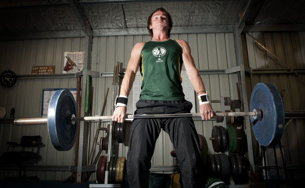 Young weightlifting champion Jacob Daniels has a big future in the sport.
