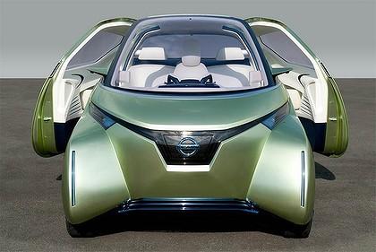 The 2011 Nissan Pivo3 concept.
