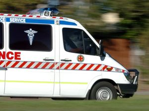 Man transported to hospital after motorbike accident