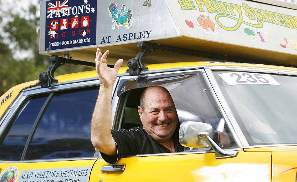 Rob Sayle will be heading off to Dalby for the start of the Variety Bash in his old Holden this August, finishing in Mackay 10 days later. Photo: Claudia Baxter