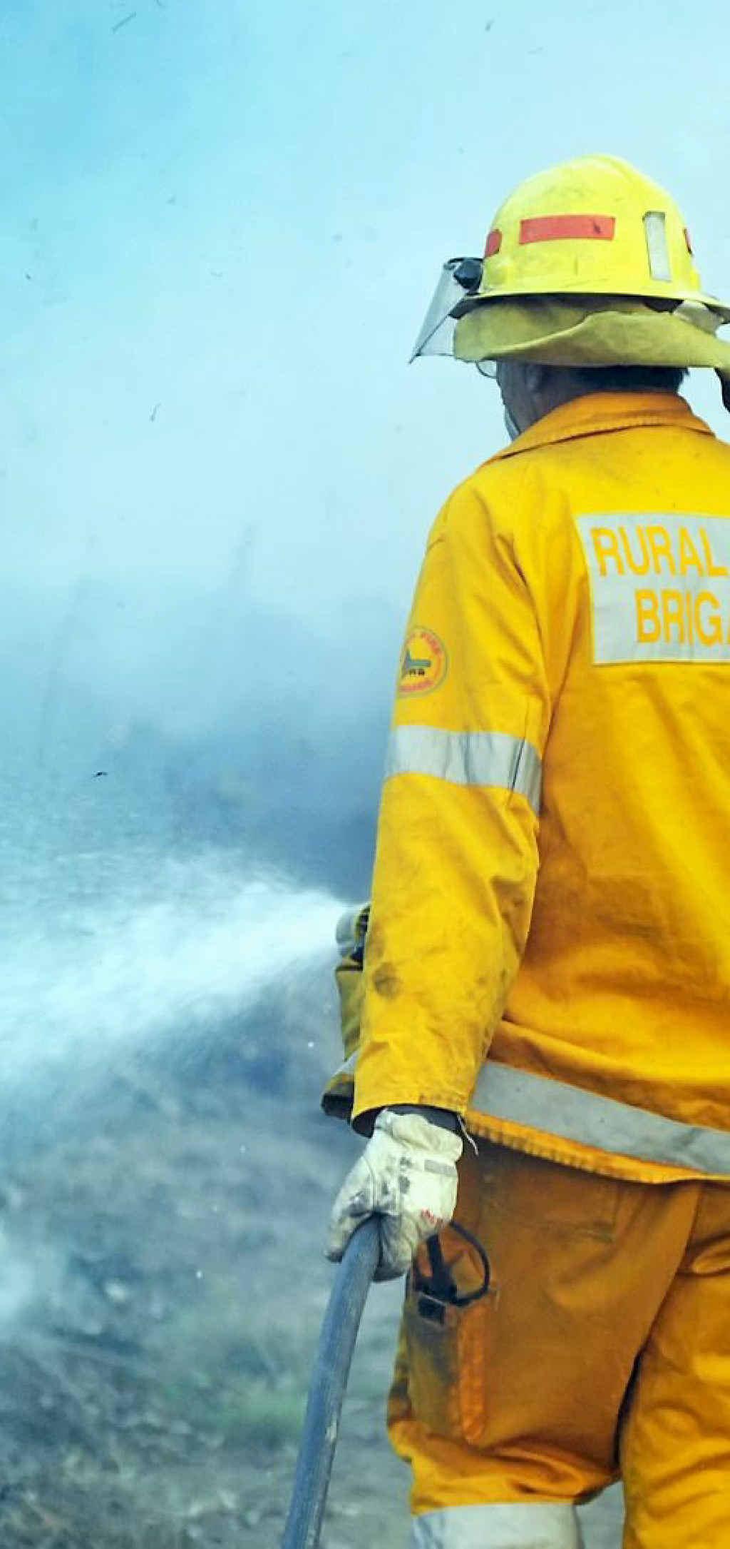 LITTLE INTEREST: The Rural Fire Brigade