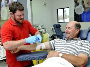 Red Cross blood supplies plummet