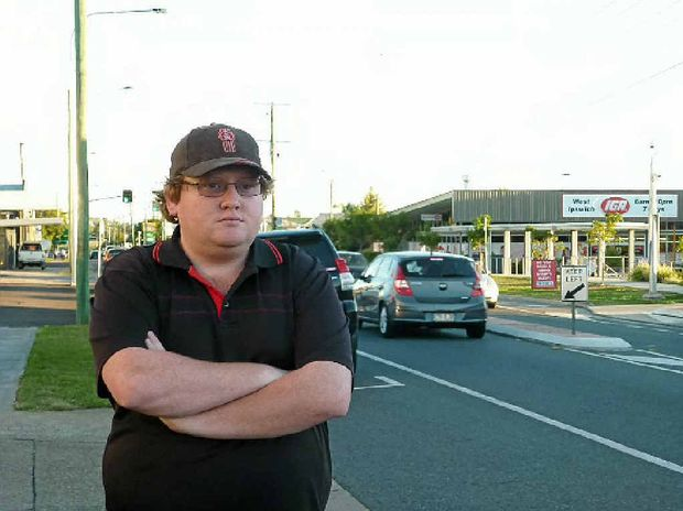 TOUGH GO FOR YOUNG DRIVERS: Beau Linsley hopes he can keep trucking after losing his insurer.