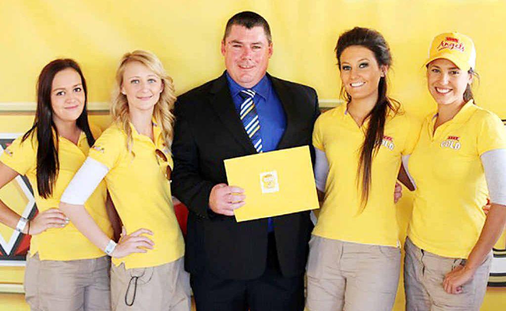 Stuart Mason of Leichhardt has won a trip worth $10,000 to XXXX Island with three of his mates.