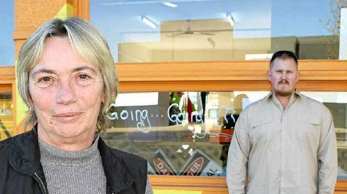 Tammy Wegener and her son Lucas are packing up shop and heading to Ipswich because locals weren't buying local products.