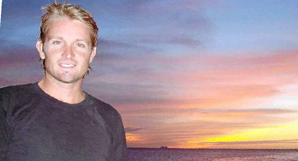 Sunshine Coast surfer Mark Ovenden was found dead beside his motorbike.