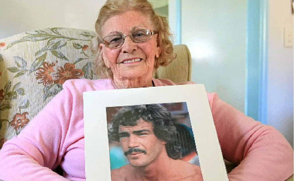 Surfing great MP's mother Joan Watt.