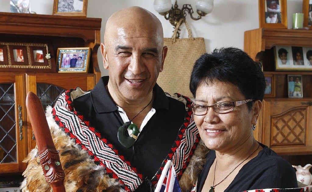 Tiwana and Piripeti Kanuta, originally from New Zealand, have called Ipswich home for five years. Photo: Sarah Harvey