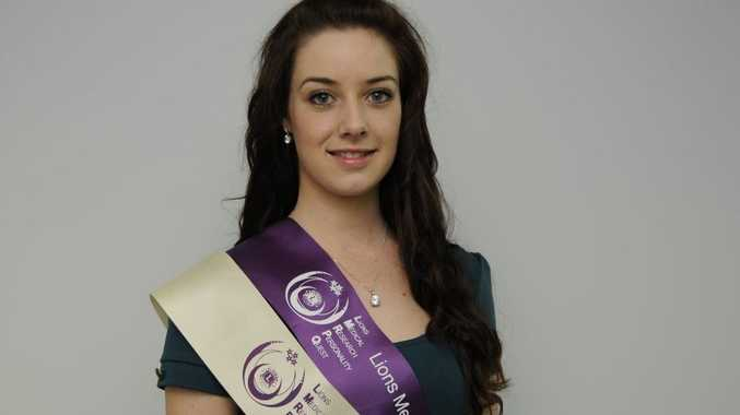 Danielle Hohn has been named the Lions Club Miss Charity after raising $28,000 for medical research.