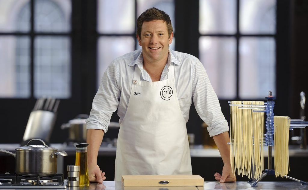 MasterChef publicity shot of contestant Sam Davis. Courtesy of Channel 10.