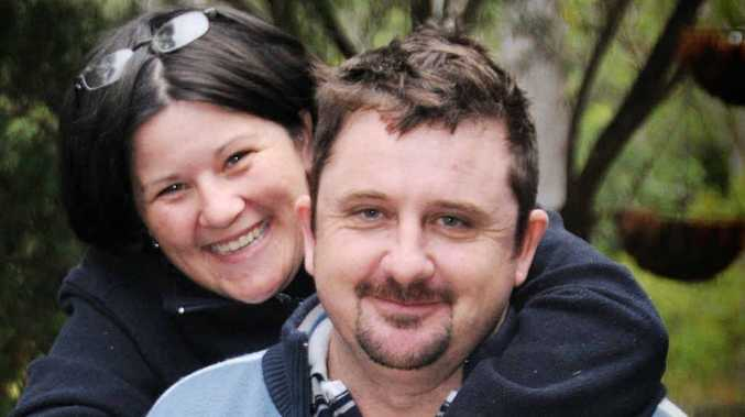 Maree and Damian Whitley finally tied the knot in Gympie on Saturday.