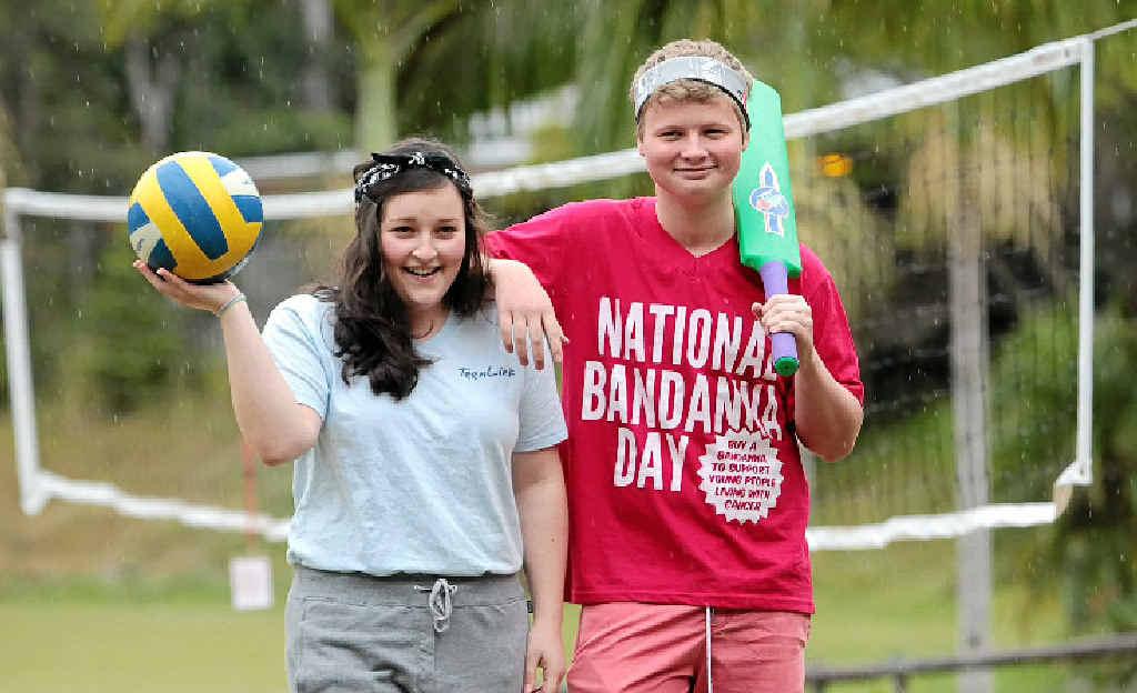 Hannah and Matthew find hope at CanTeen camp at Wappa Falls.