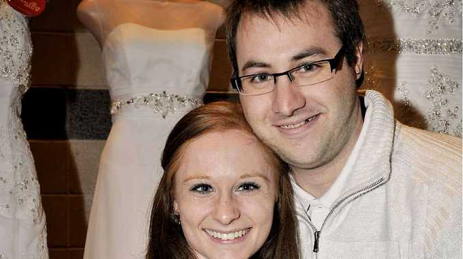 Planning their 2013 wedding are Erin Browne and Steven Peck.