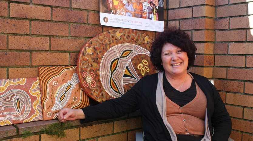 Deena Dodd helps organise NAIDOC celebrations.