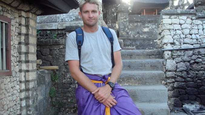 Mark Ovenden in Bali.